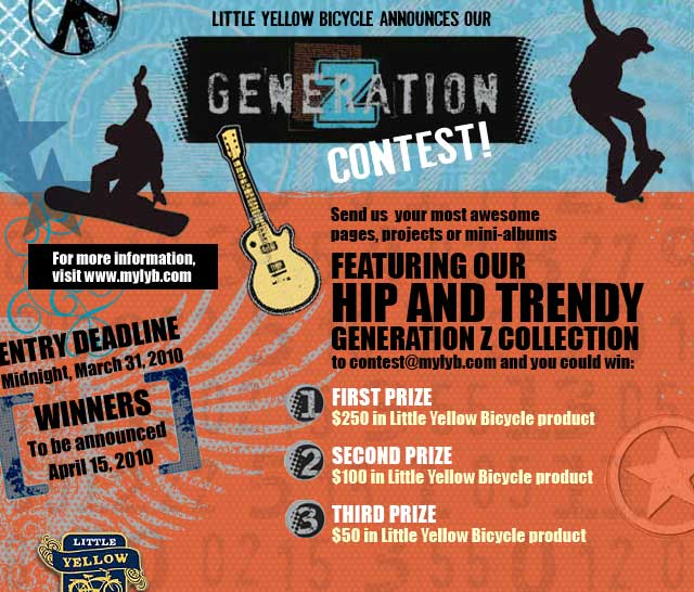 Little Yellow Bicycle Announces Generation-Z Contest