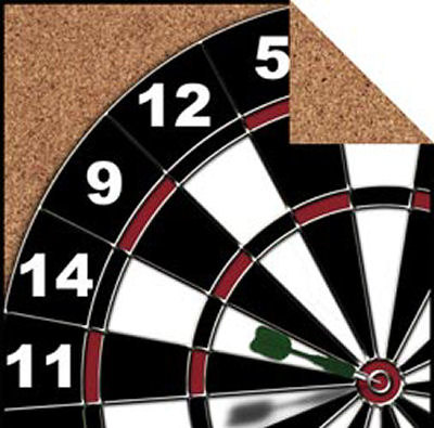 High flyin' Darts make for a Perfect Bullseye Scrapbook