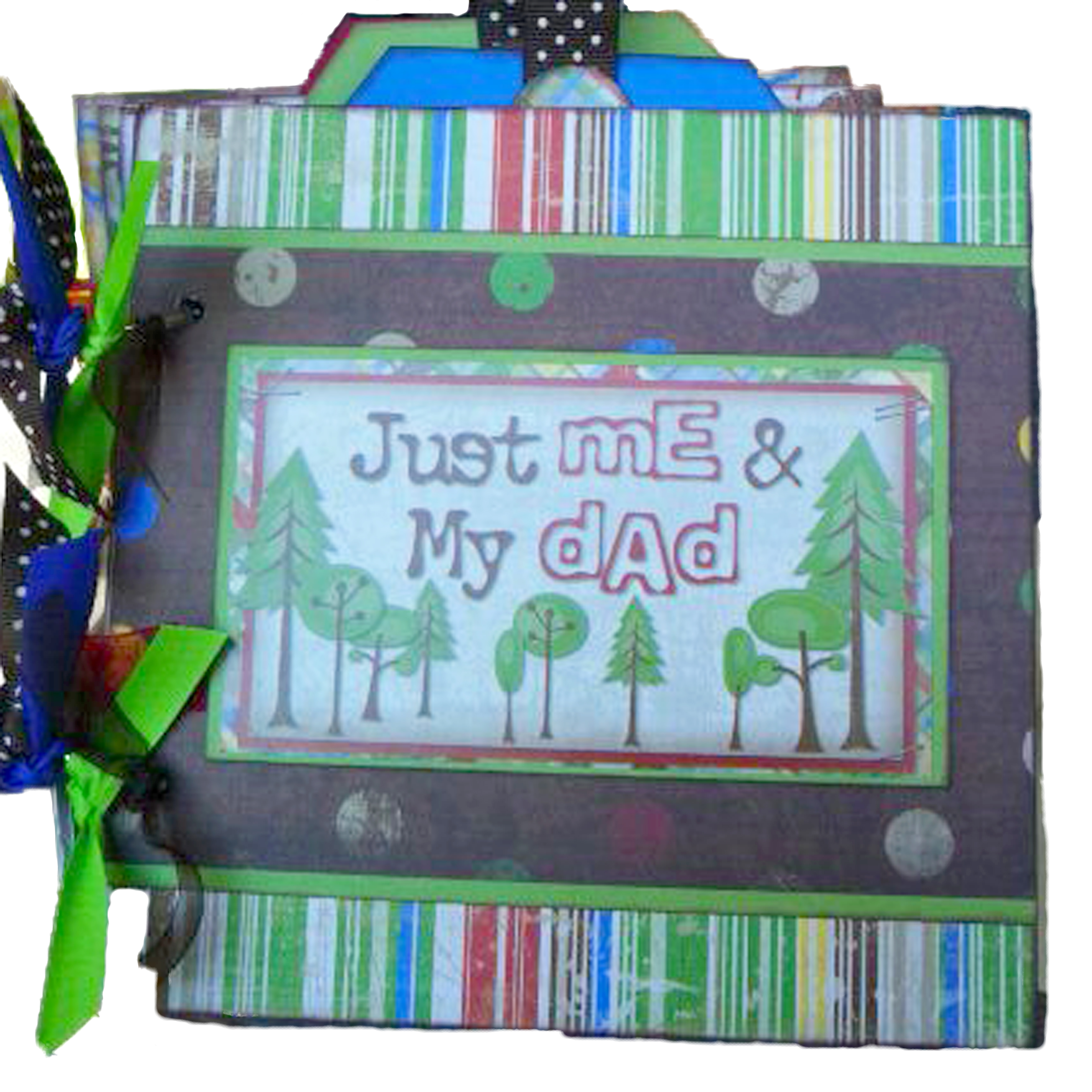 Just Me & My Dad Camping Mini Album