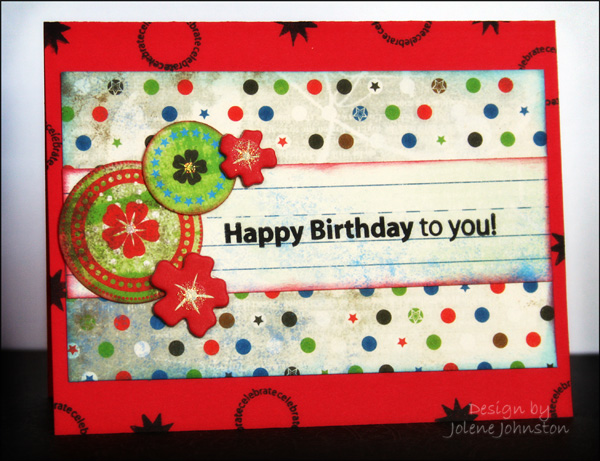 Block Party Birthday Card