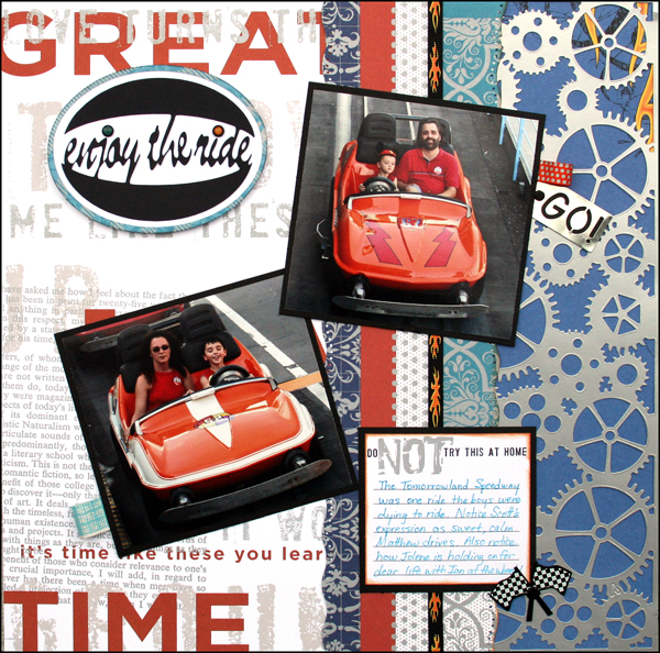 ENJOY THE RIDE Layout