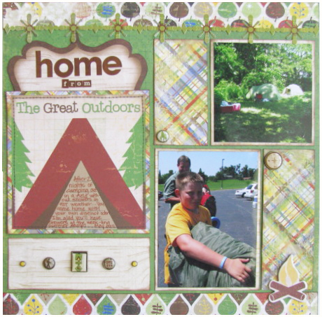 Home from the Great Outdoors Layout