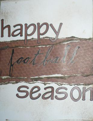 Happy Football Season Card