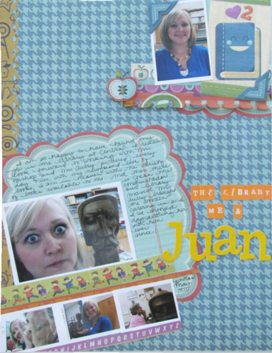 The Library, Me & Juan Layout