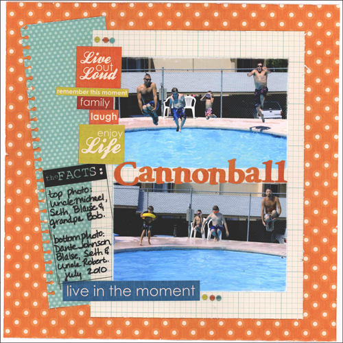 Cannonball Layout