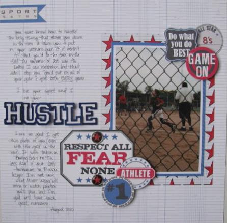 Hustle 2-page Layout