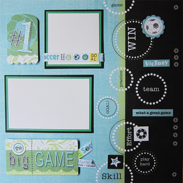 The Big Game Soccer Layout