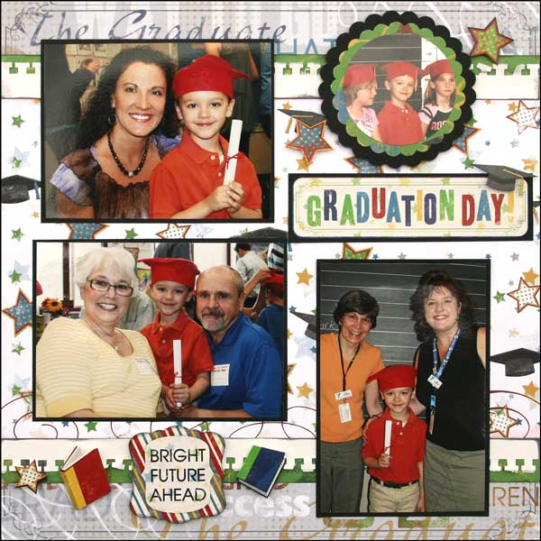 Graduation Day Layout