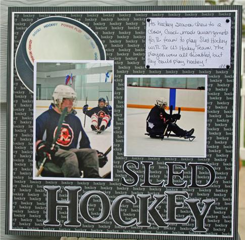 Sled Hockey Layout