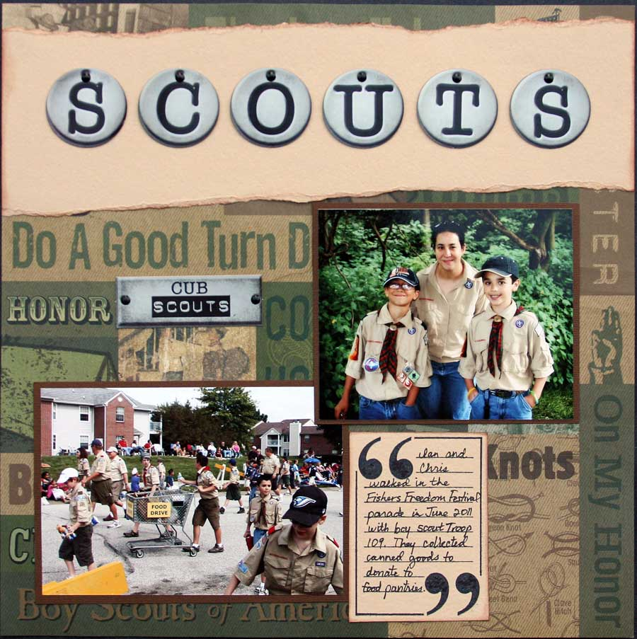 Scouts Layout