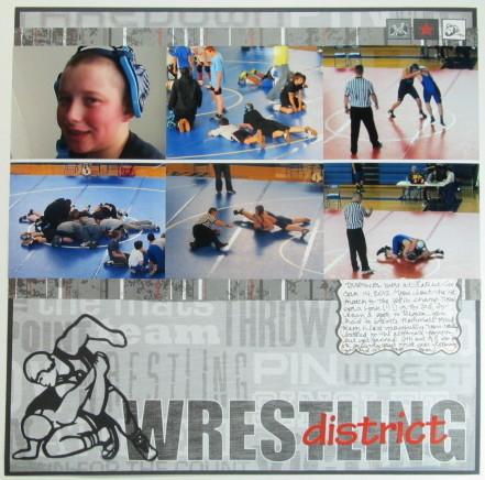 District Wrestling Layout