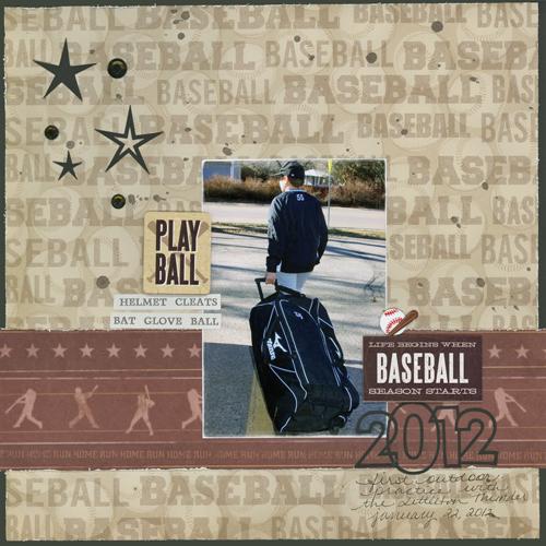 2012 Baseball Layout