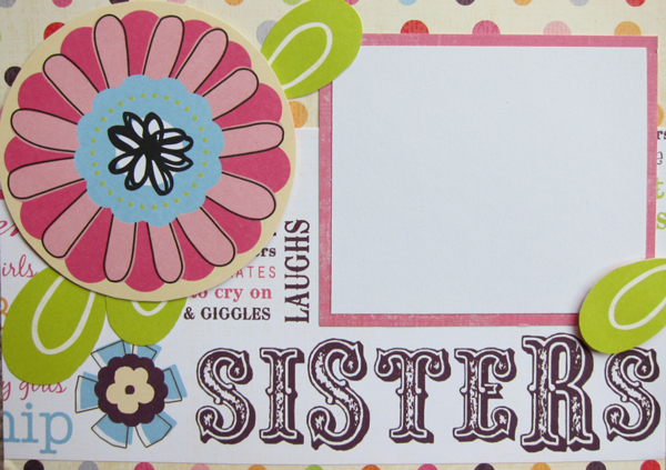 Sisters Photo Card