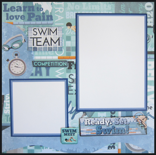 Swimming Layout