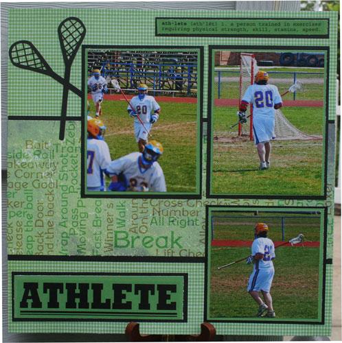 Athlete Layout