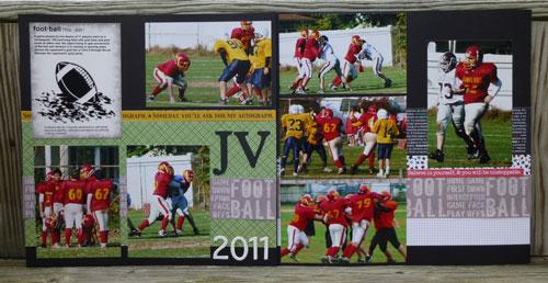 JV Football 2011