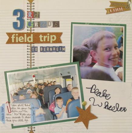 3rd Grade Trip to Bernheim Layout