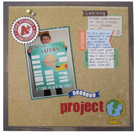 Science Project Layout
