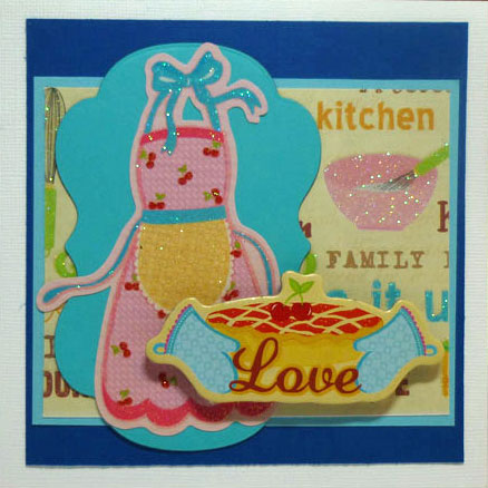 Love Cooking Card
