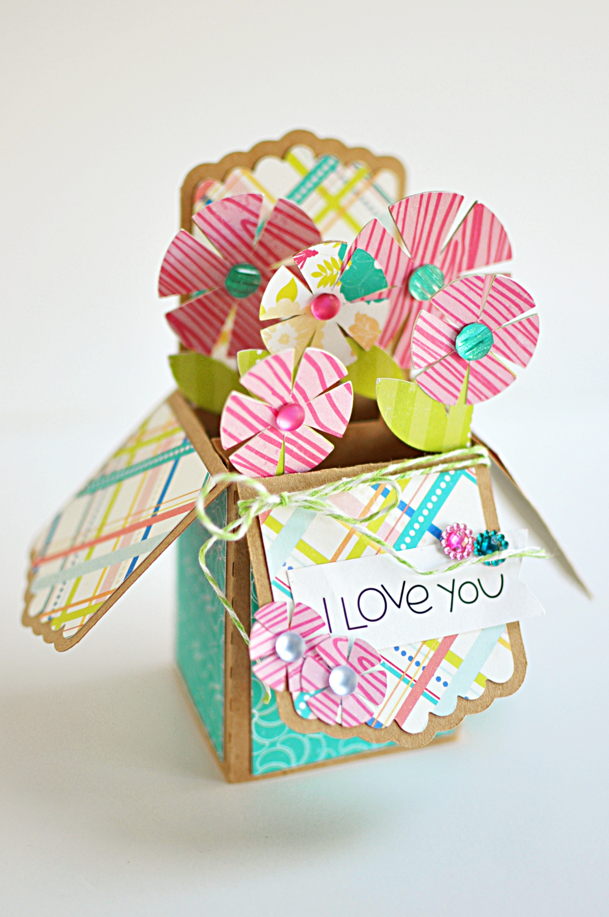 I Love You Box Card
