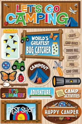 Creating a Summer Camp Scrapbook