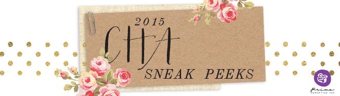 CHA Peeks: Creating Art With Finnabair!