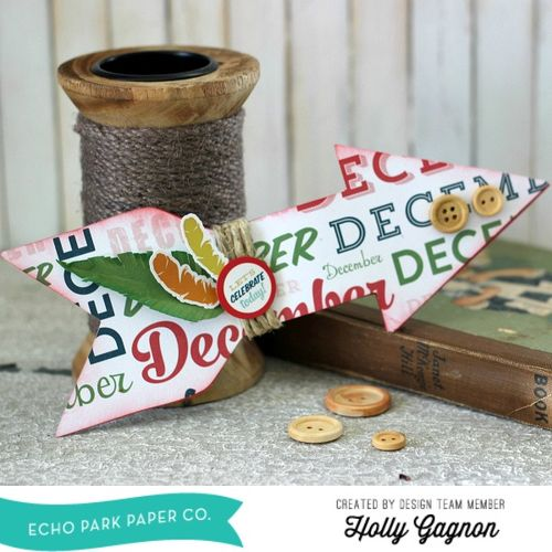 Create a Shaped Card Personalized for the Month!