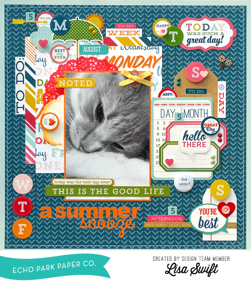 There are SO many ways to use stickers on your layouts!