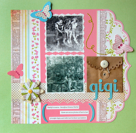 Be Different in your DIY Scrapbooking