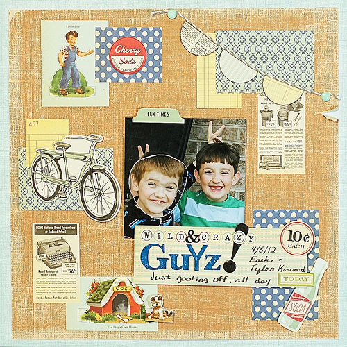 Ideas for Scrapbooking Pages