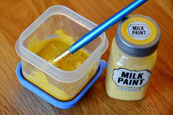 Wash it with Milk Paints!