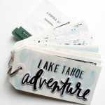 mini book on-the-go | Lake Tahoe Adventure