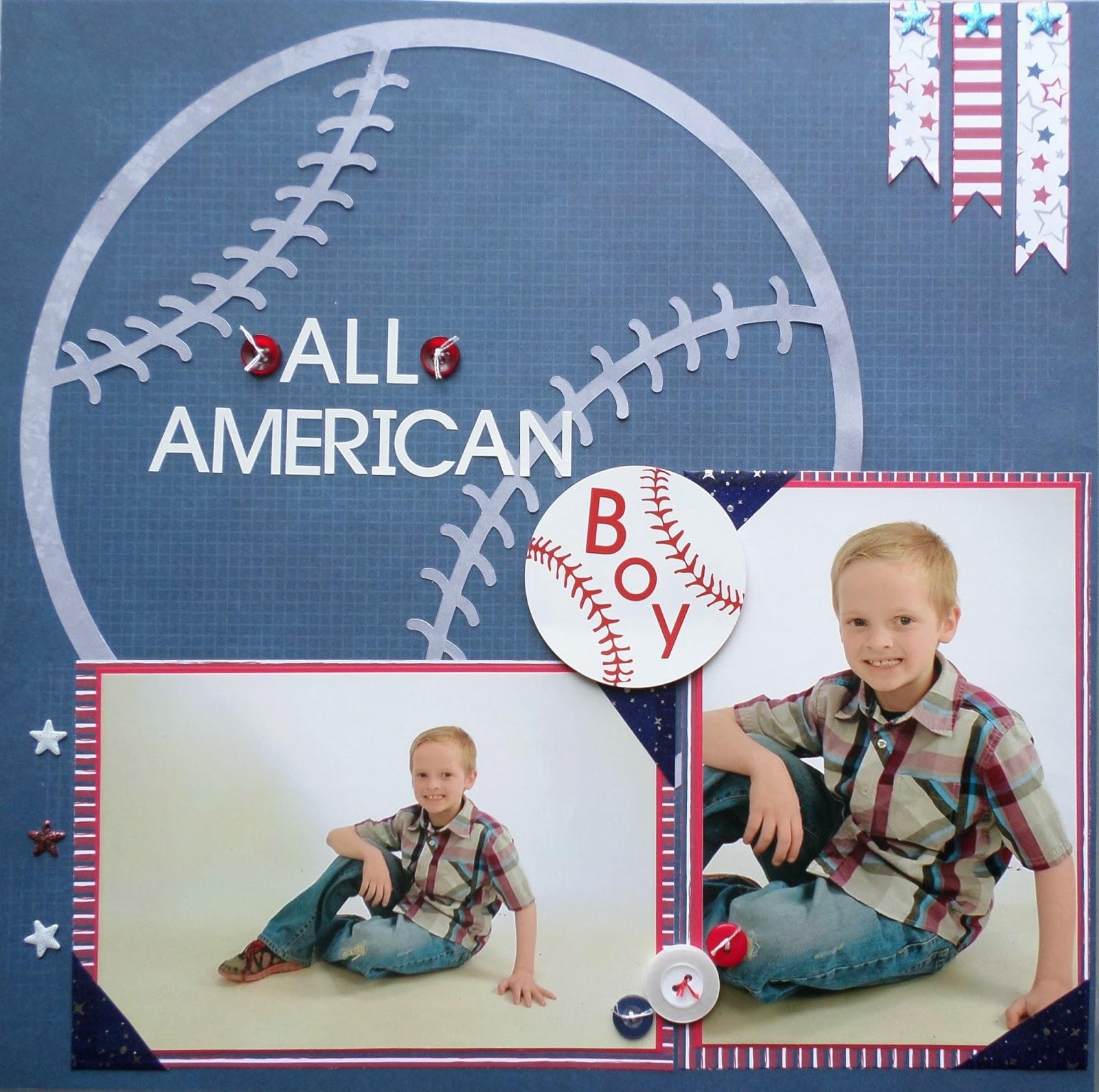 All American Boy Layout