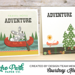 "Create an Outdoor Adventure Card Set with ""The Wild Life"" Collection!"