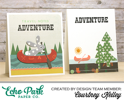"""Create an Outdoor Adventure Card Set with """"The Wild Life"""" Collection!"""