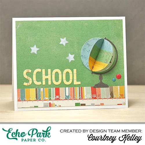 Create a 3-D Globe Card For Your Teacher!