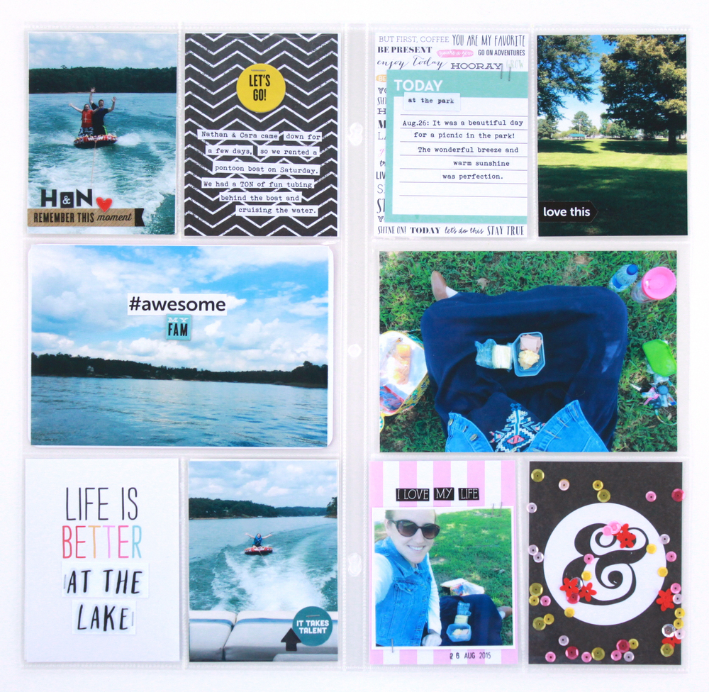 POCKET PAGES™ | 'Life is Better at the Lake'