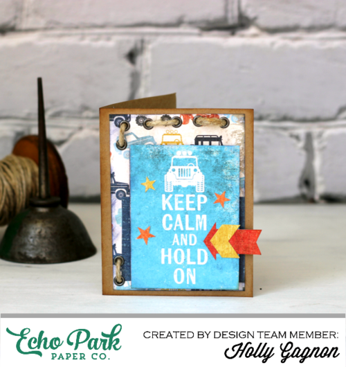 Keep Calm and Make This Card!
