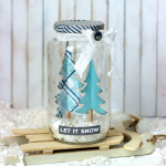 Up-Cycle a Jar To Create a Snowy Winter Scene!