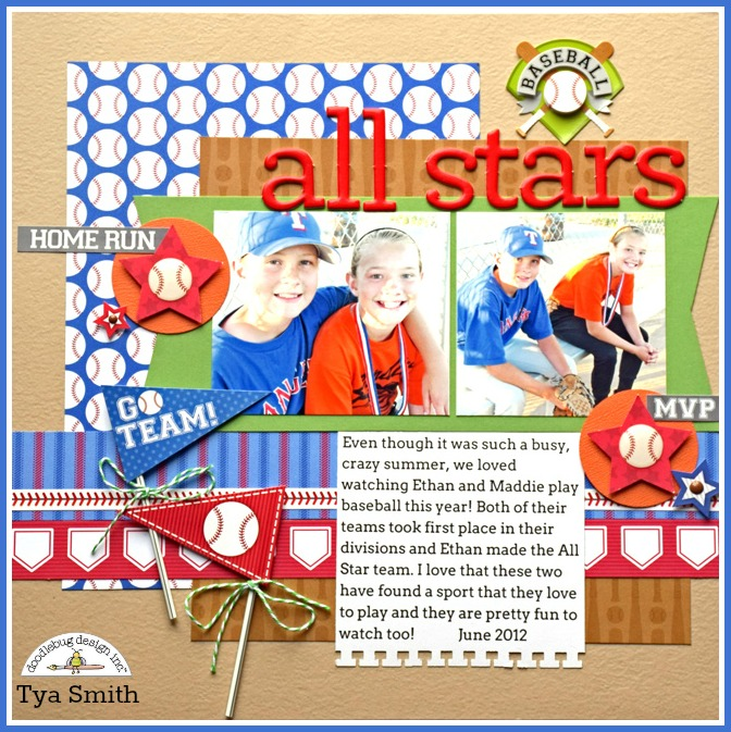 Home Run Collection: All Stars layout by Tya