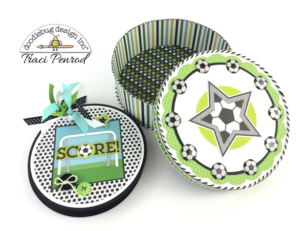 GOAL!! Collection: Soccer Mini Album by Traci Penrod