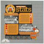 Slam Dunk Collection: Basketball Stats Layout by Mendi