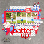 Home Run Collection: Batter Up Layout