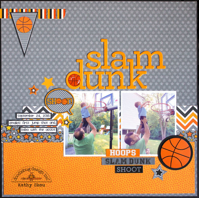 Slam Dunk Collection: Layout by Kathy Skou